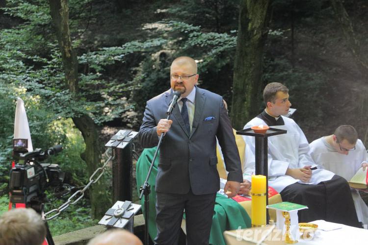 Uroczystości w Lesie Grabińskim