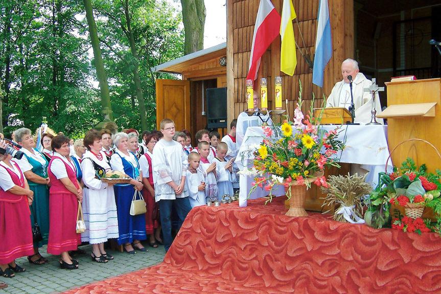 V Gminny Konkursu Wieńca Dożynkowego 2005 w Klimkówce