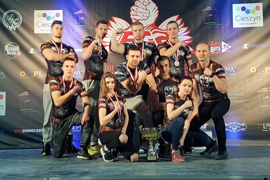VIII Mistrzostwa Polski w Armwrestlingu