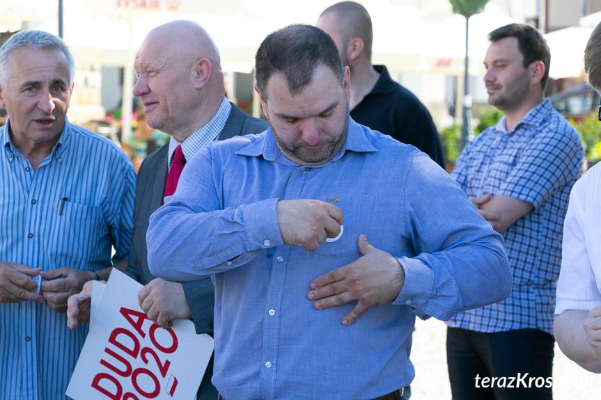 Wiec poparcia Andrzeja Dudy w Krośnie