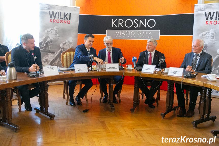 Wilki Krosno - Konferencja prasowa