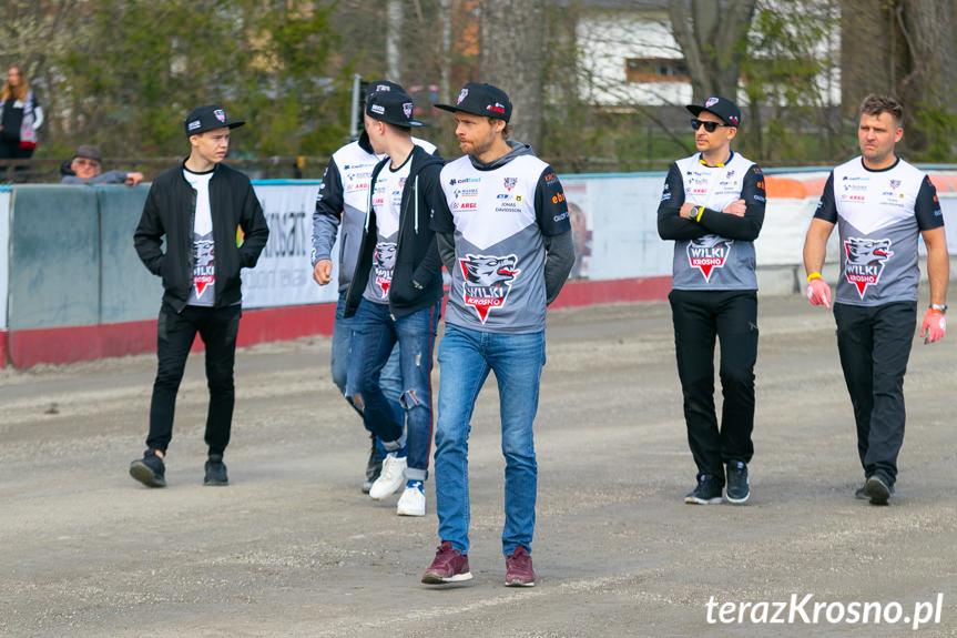 Wilki Krosno - Speedway Wanda Kraków 53:37