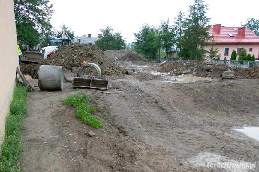Wmurowanie kamienia węgielnego w Równem