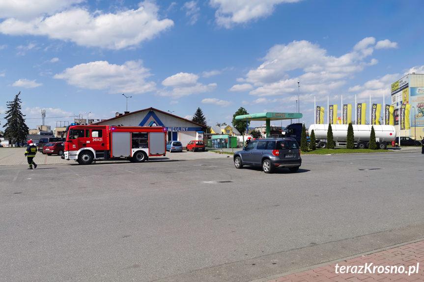 Wyciek gazu podczas tankowania