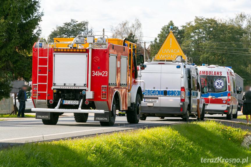 Wypadek na Bema w Krośnie