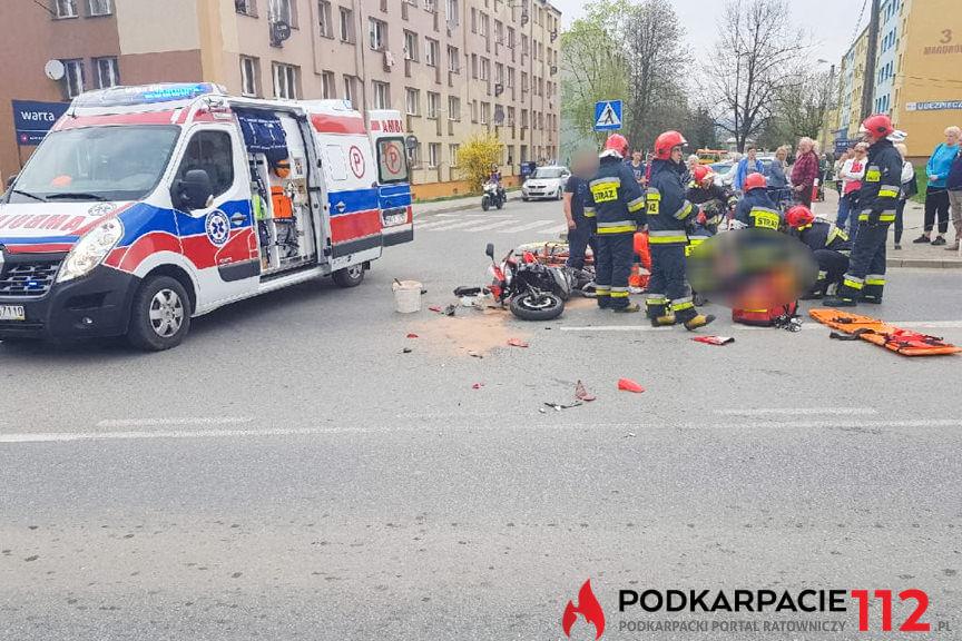 Wypadek na skrzyżowaniu Tysiąclecia z Magurów