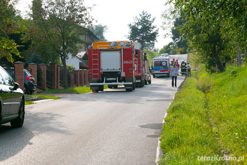 Wypadek traktorzysty w Chorkówce