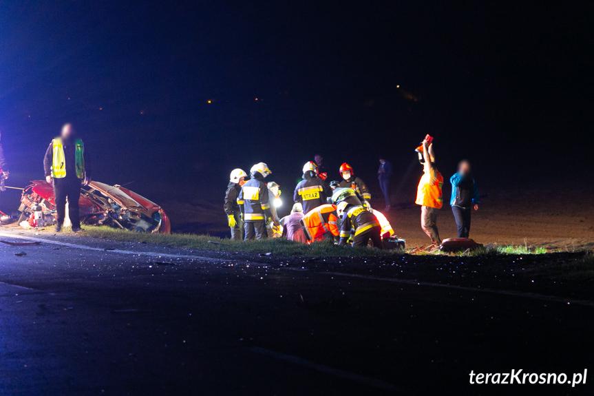 Wypadek w Besku