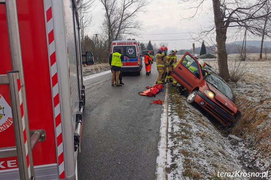 Wypadek w Bóbrce