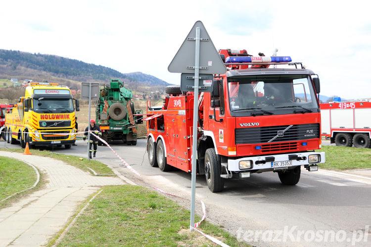 Wypadek w Domaradzu