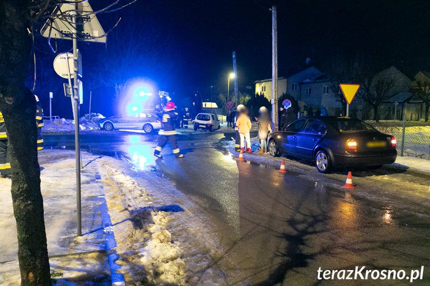 Wypadek w Dukli