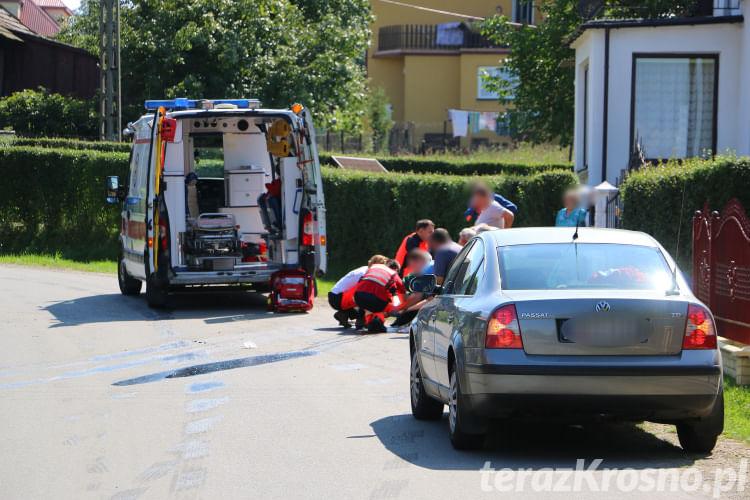 Wypadek w Faliszówce. Dwóch mężczyzn przygniecionych przez