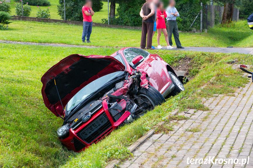 Wypadek w Głojscach