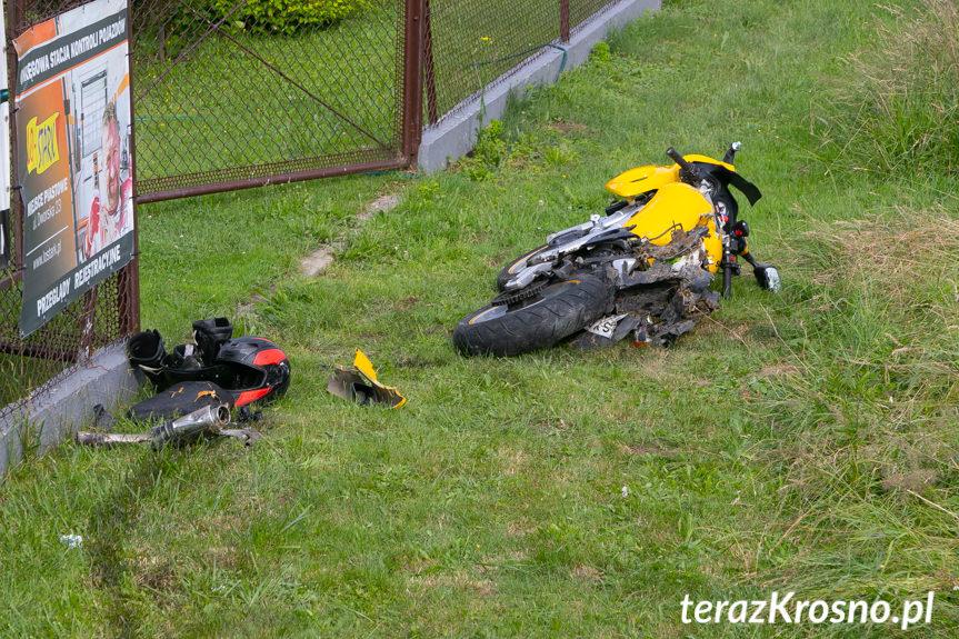 Wypadek w Iskrzyni