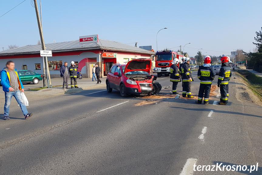 Wypadek w Iwoniczu