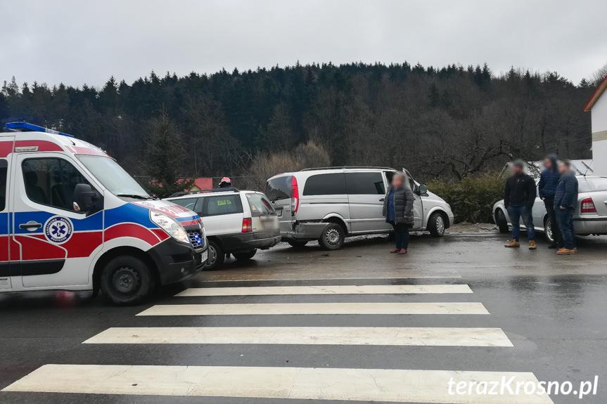 Wypadek w Iwoniczu na Długiej