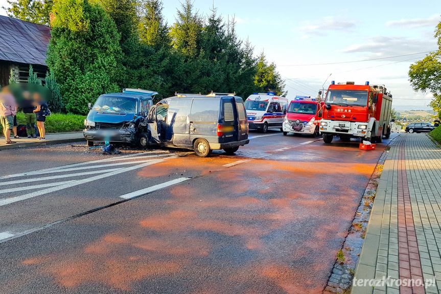 Wypadek w Jabłonicy Polskiej
