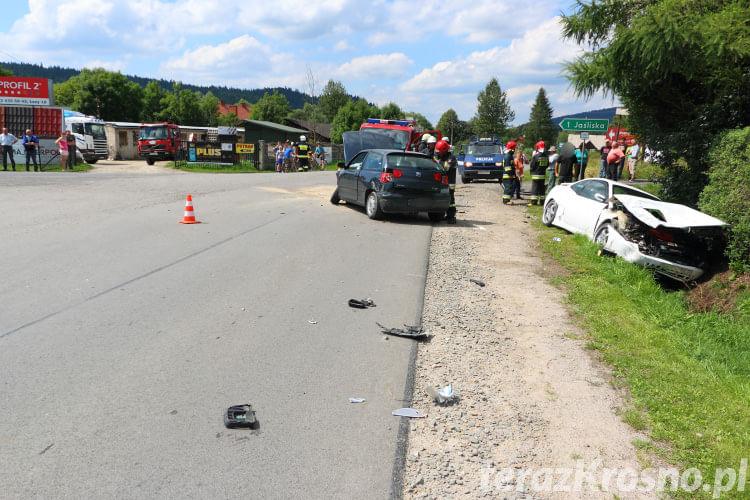Wypadek w Jaśliskach