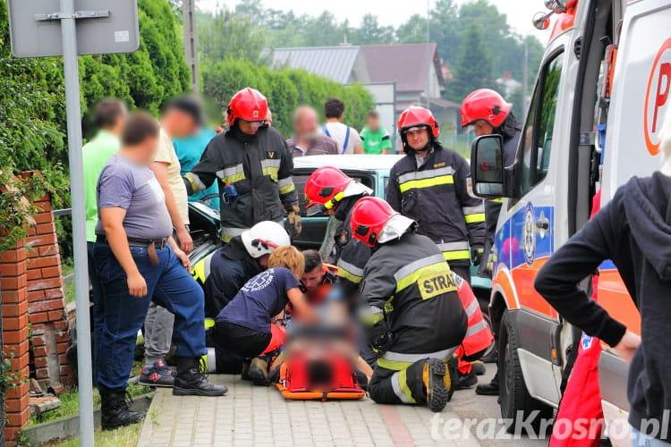 Wypadek w Jedliczu na Manierskiego