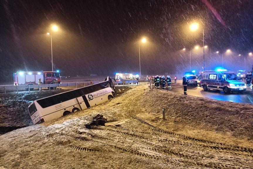 Wypadek w Kaszycach