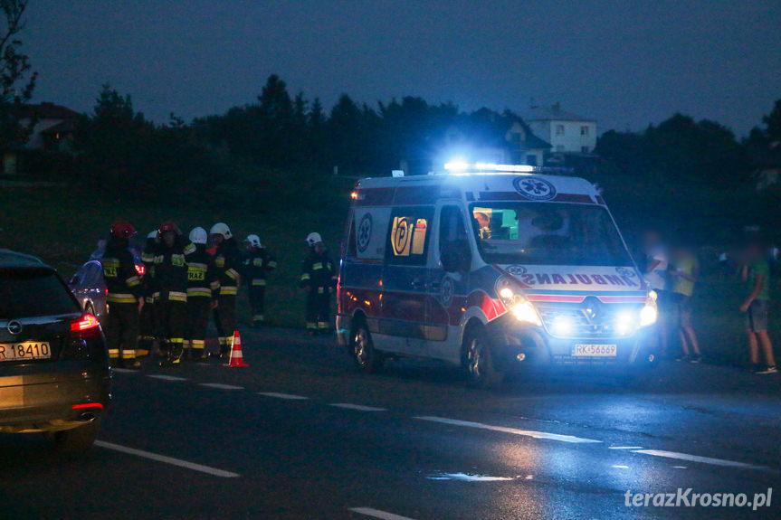 Wypadek w Klimkówce