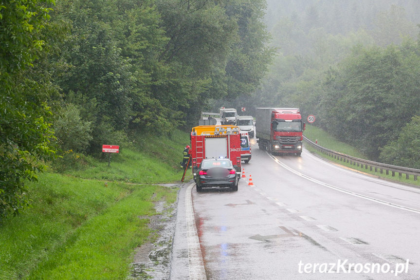 Wypadek w Komborni
