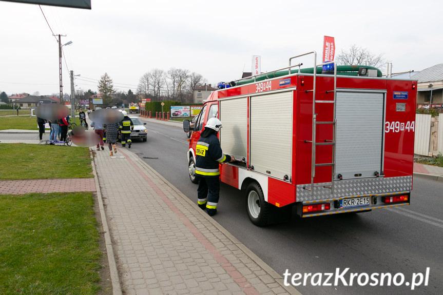 Wypadek w Korczynie