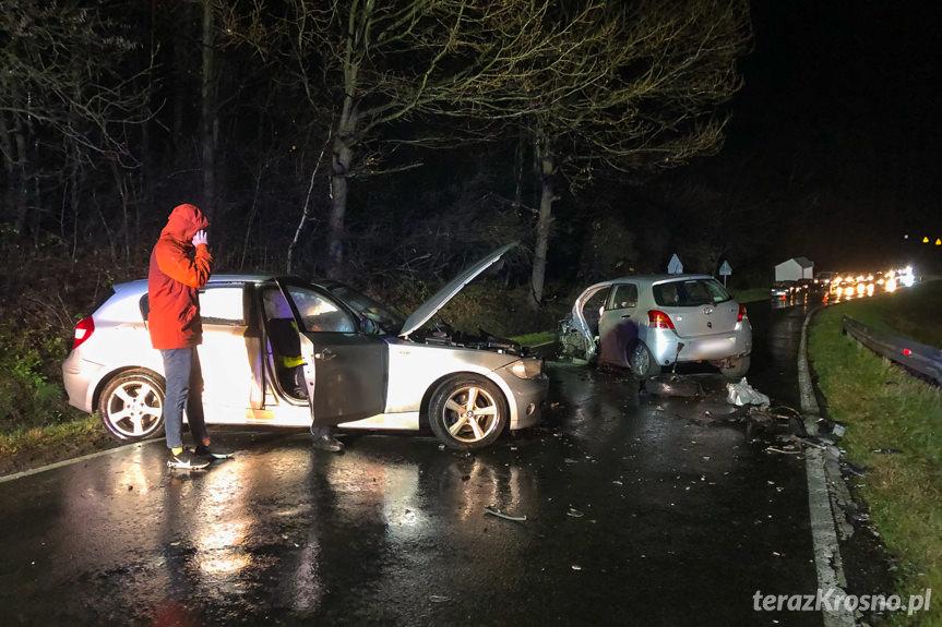 Wypadek w Krasnej
