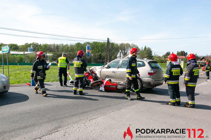 Wypadek w Krośnie na ul. Rzeszowskiej