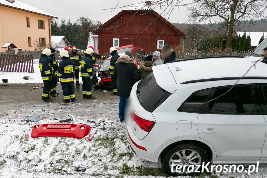 Wypadek w Leśniówce