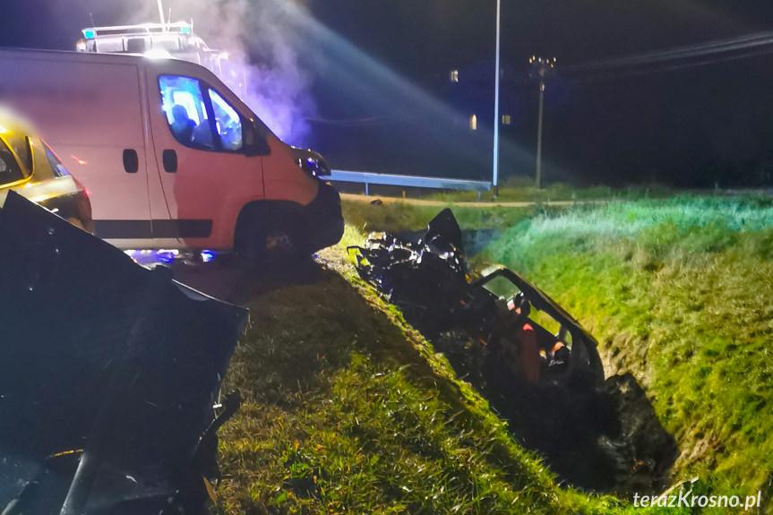 Wypadek w Małówce