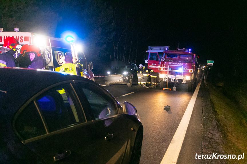 Wypadek w Jaszczwi