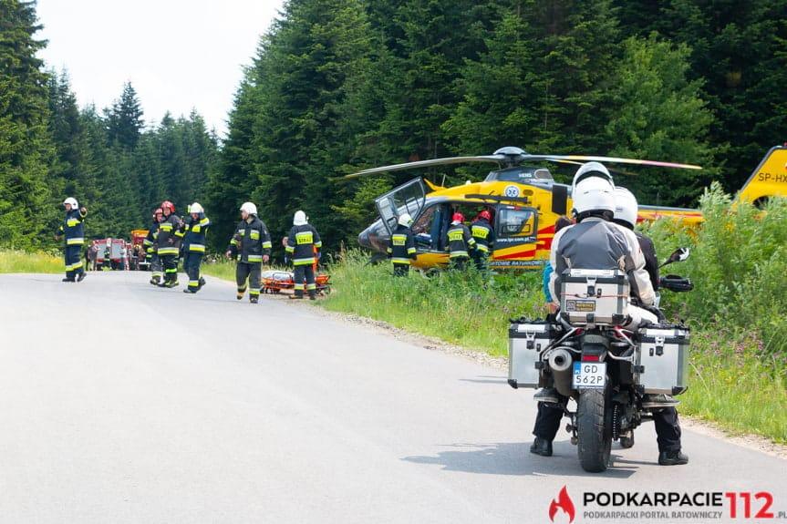 Wypadek w Moszczańcu