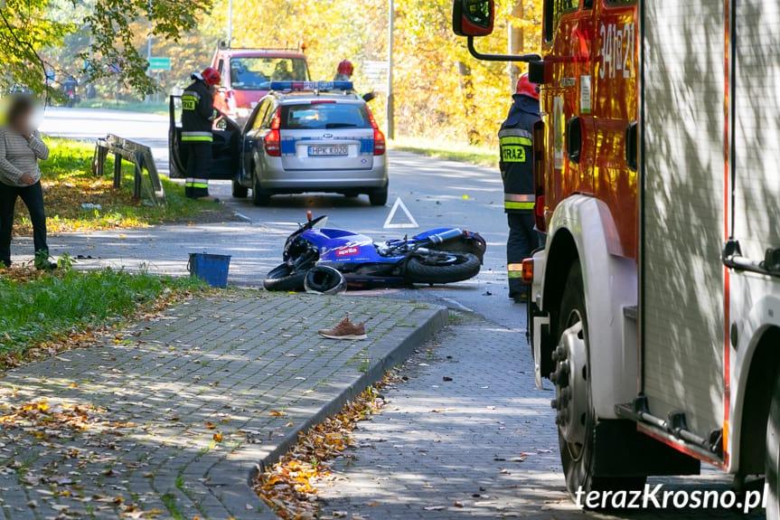 Wypadek w Potoku