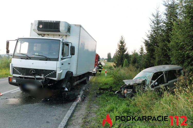 Wypadek w Przybówce