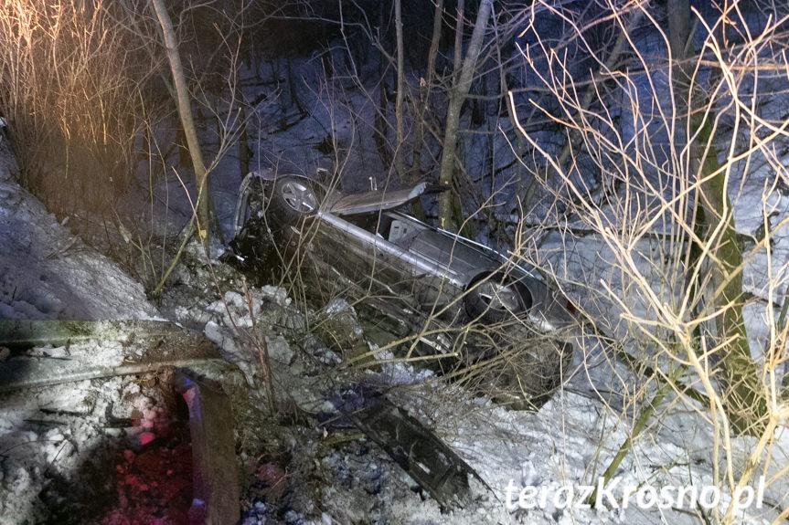 Wypadek w Rudawce Rymanowskiej