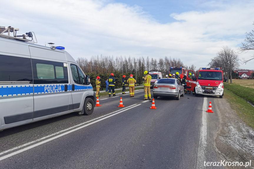 Wypadek w Rymanowie na Bieleckiego