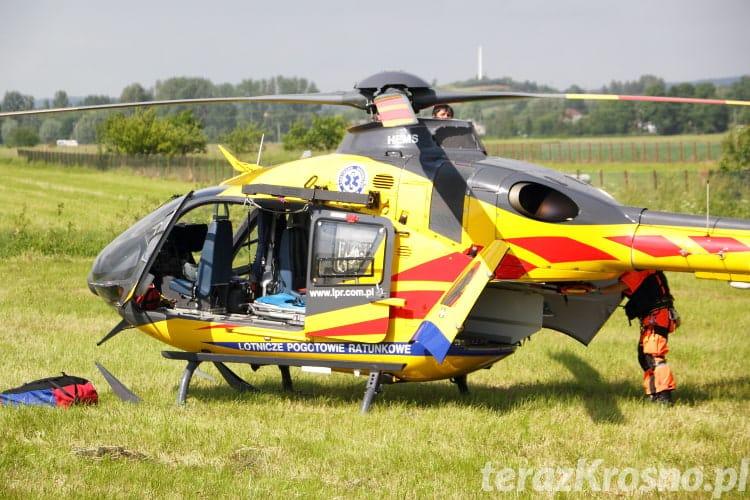 Wypadek w Rymanowie