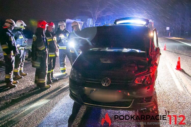 Wypadek w Sieniawie