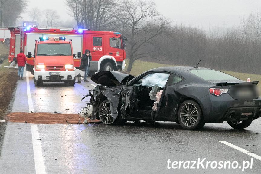 Wypadek w Szebniach