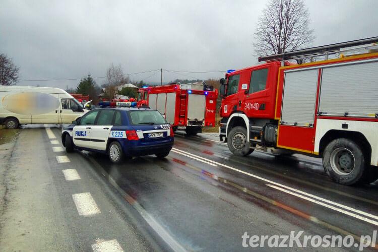 Wypadek w Trzcianie