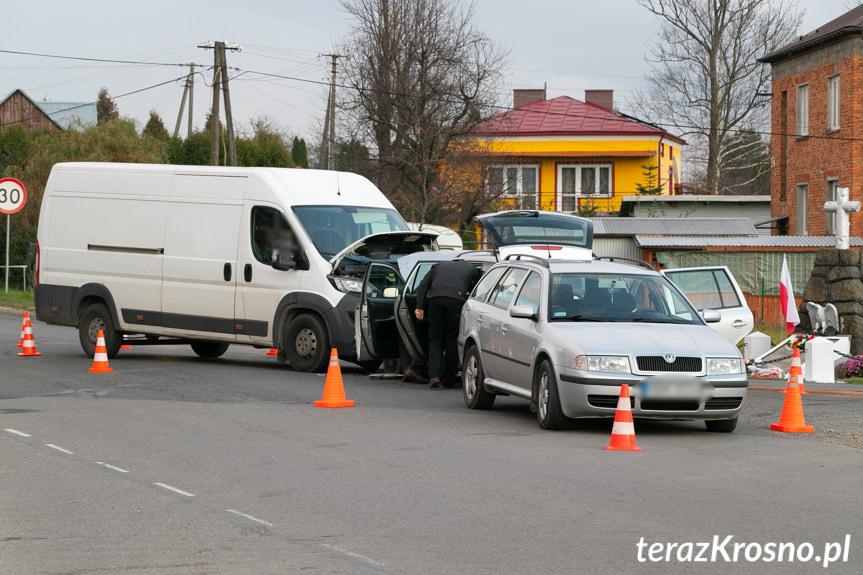 Wypadek w Trześniowie