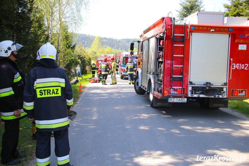Wypadek w Węglówce