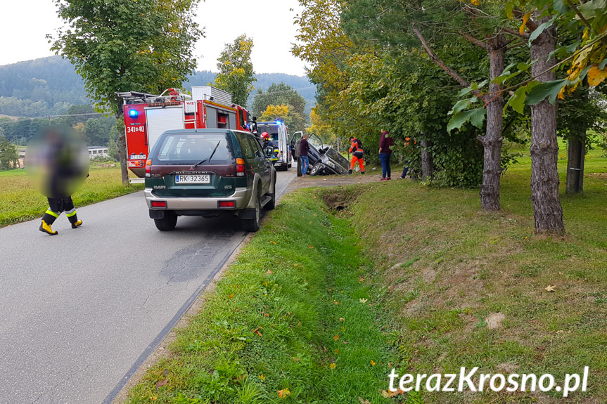 Wypadek w Weglówce