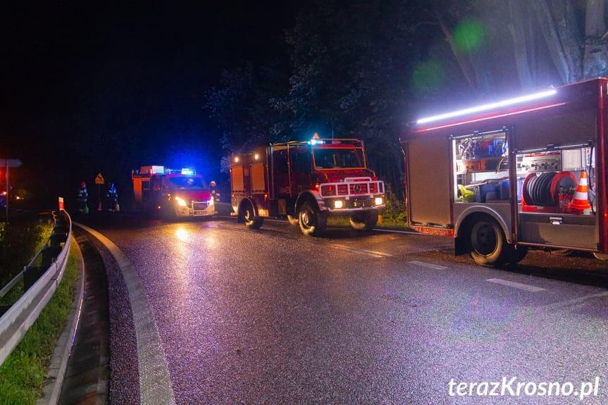 Wypadek w Woli Komborskiej