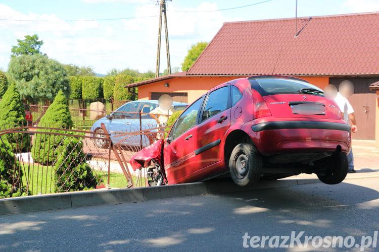 Wypadek w Żarnowcu