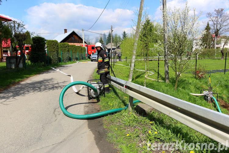 Wypadek wozy OSP Turaszówkau