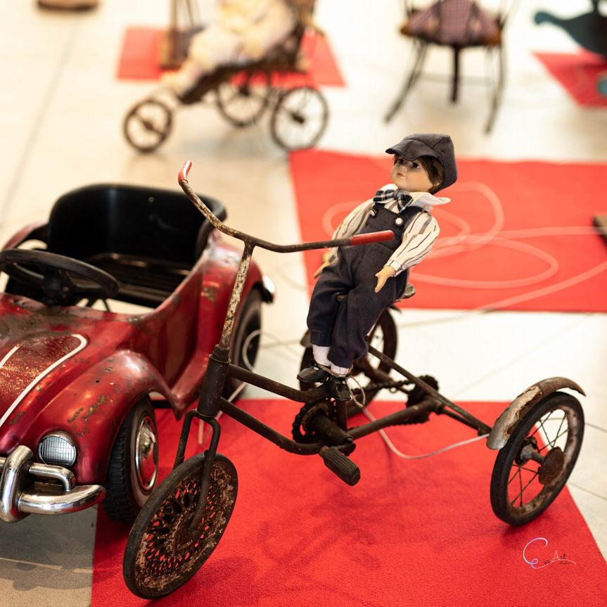 Wystawa zabytkowych zabawek w VIVO! Krosno