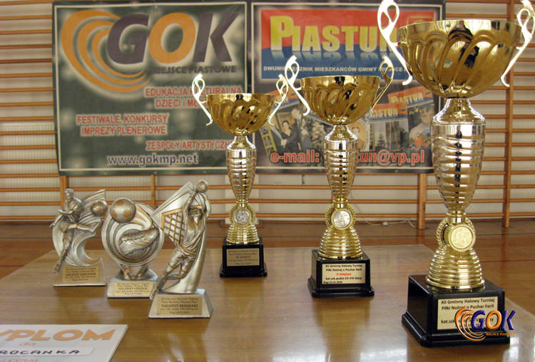 XII Gminny Halowy Turniej Piłki Nożnej o Puchar Ferii