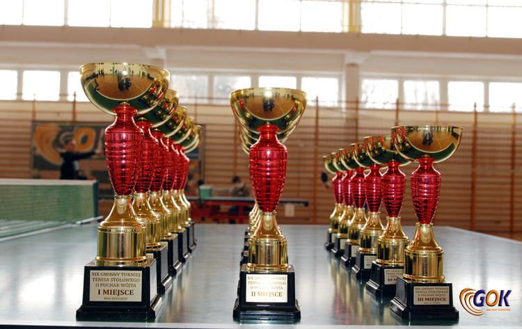XIX Gminny Turniej Tenisa Stołowego o Puchar Wójta